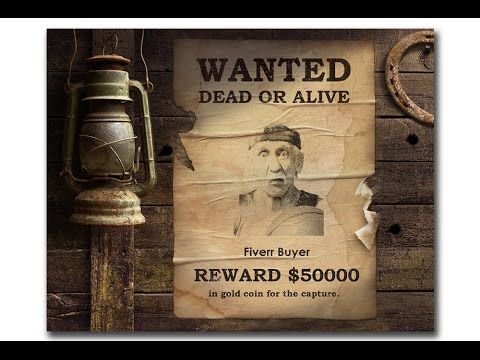 I will make a Wanted Poster for PRANKS
