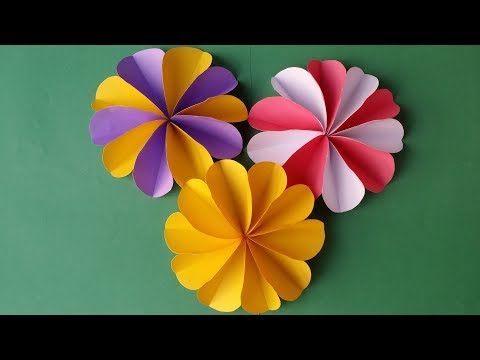 DIY- How to Make Easy & Beautiful Paper Flower !!!!