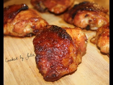 Spicy Honey Baked Chicken - Cooked by Julie - Episode 33