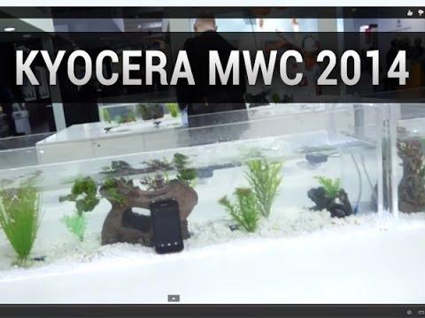 Kyocera au MWC 2014, quelques nouveautés résistantes - par Test-Mobile.fr