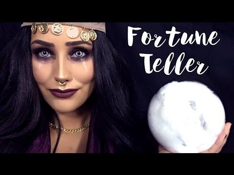 Fortune Teller Makeup & DIY costume   Halloween 2016