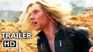 """AVENGERS: INFINITY WAR """"Black Widow in the Battle"""" New TV Spot Trailer (2018) Superhero Movie HD"""