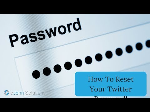 How To Reset Your Twitter Password