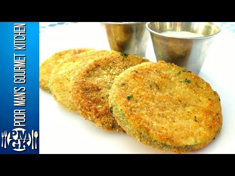Fried Zucchini - Simple and Delicious - PoorMansGourmet