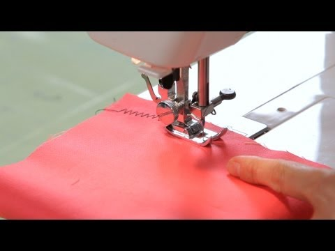 How to Make a Zigzag Stitch | Sewing Machine