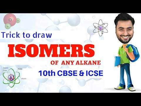 Easy trick to draw ISOMERS of any carbon compound