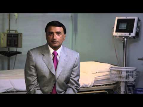 Dr Maharaj discusses his clinical trial investigating a novel cancer therapy