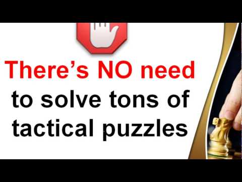 Tactical Puzzles - Chess Training Plan for Rapid Improvement