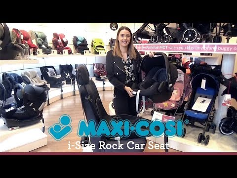 Maxi Cosi Rock i Size Car Seat Store Demo - Direct2Mum