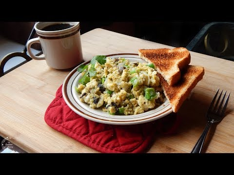 Vegetable Scrambled Eggs Recipe | Breakfast Recipes | The Sweetest Journey