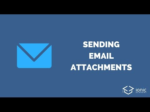 Sending Emails with Image Attachments in Ionic