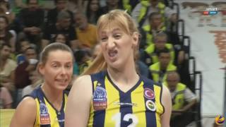 VAKIFBANK vs FENERBAHÇE | 30 April 2016 | GRUNDIG TURKISH LEAUGE FINAL FOUR SERIES 2016/2017