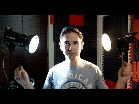 Aputure 120t vs Godox SL60w - LED video light showdown and review