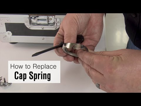 How to Replace a Cap Spring on the Ultrafeed Sewing Machine