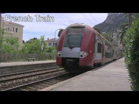 French Riviera Train Ticket Machine