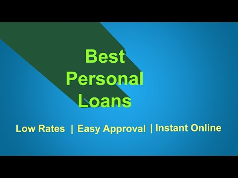 Best Personal Loans - How to Get Personal loan 2018 (Bad Credit OK)