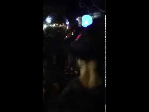 Spinning Disco Ball Head - Dancers