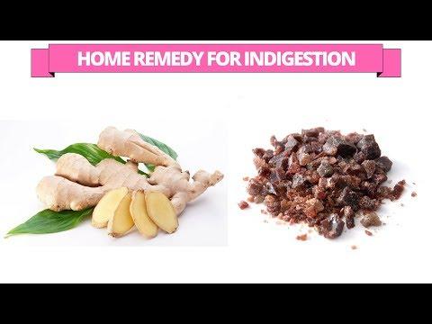 Home remedy for ginger and black salt for indigestion problem