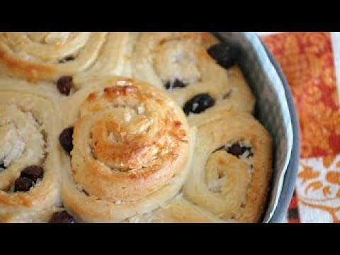 Coconut Raisin Buns Recipe
