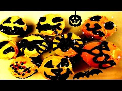 DIY Halloween Pumpkin Cupcakes!! 🎃