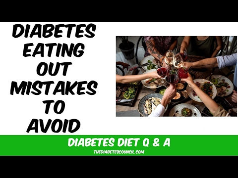 10 Diabetes Eating Out Mistakes to Avoid