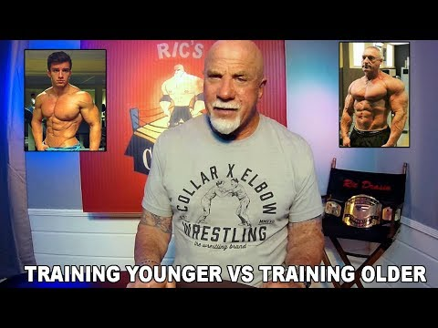 Training Younger vs  Training Older with Weights for Results