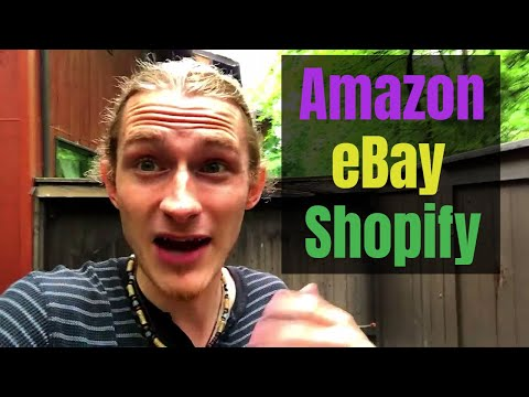 Differences Between Amazon, eBay, and Shopify Drop Shipping