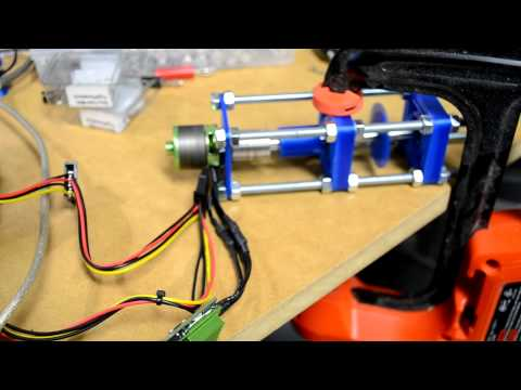 Brushless DC Motor ESC Control Using Arduino with Potentiometer for Throttle