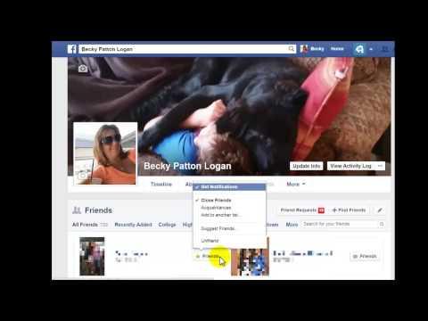 Tech Tip: Facebook Friend or Acquaintance