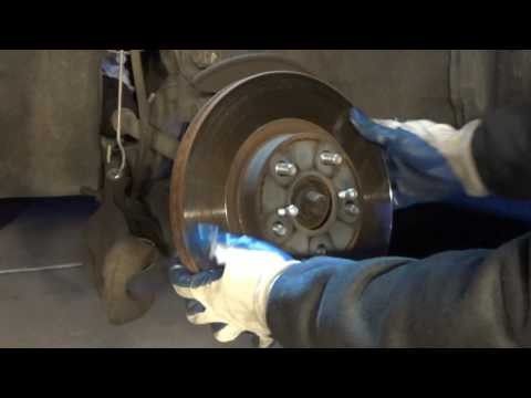 DIY: Change brake pads and rotor for Toyota Corolla 2009-2013