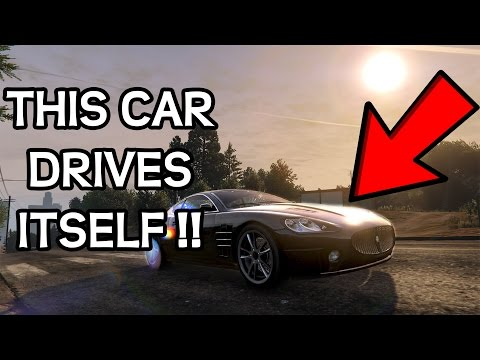 100% Autonomous Self-Driving Car in GTA V - Demonstration