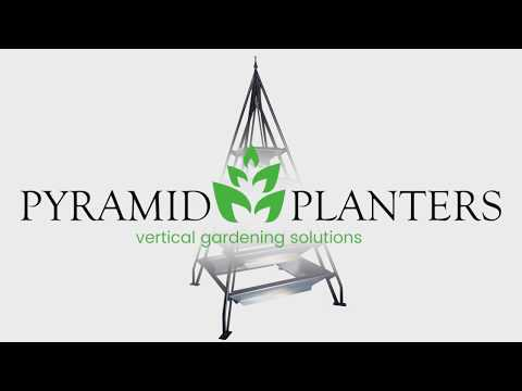 Pyramid Planters -  Assembling the Planter