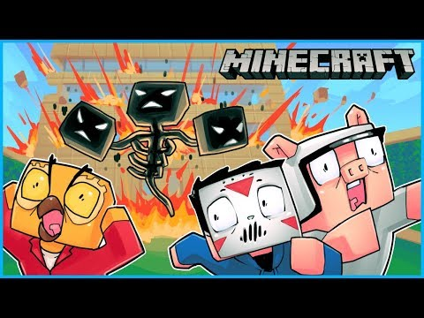 Xxx Mp4 We Spawned The Wither Boss And It Destroyed Nogla 39 S House Minecraft Ep 9 3gp Sex