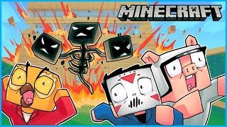 Download we spawned the wither boss and it destroyed nogla's house... Minecraft ep 9 Video