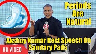 PADMAN Best Speech On Periods And Women