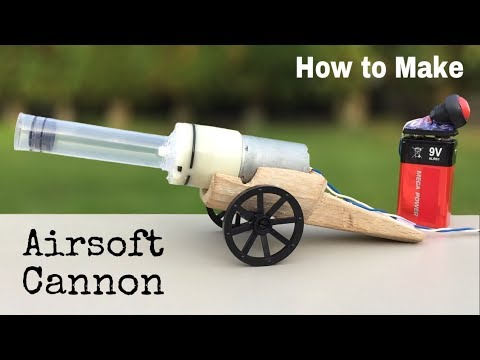 How to Make a Powerful Cannon Out of Air Pump