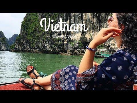 Travel Vlog: Vietnam | Hanoi & Halong Bay