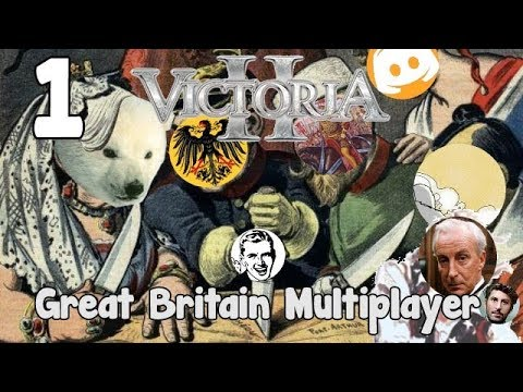 Victoria 2 HFM Multiplayer - Great Britain 1