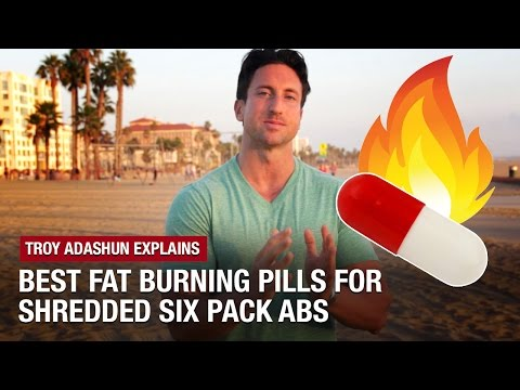 Best Fat Burning Pills: 3 All Natural Fat Burners For SHREDDED Six Pack Abs