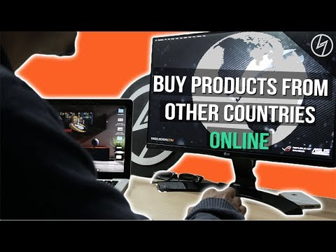 How to shop from other COUNTRIES online | CreatorShed