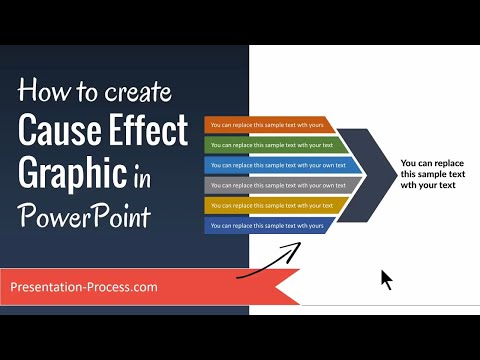 How to Create Cause Effect Graphic in PowerPoint