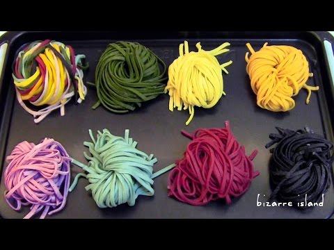 DIY All Natural n Vegan Fresh Rainbow Pasta Recipe🌈 | d for delicious