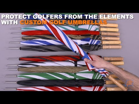 Protect Golfers from the Elements with Custom Golf Umbrellas