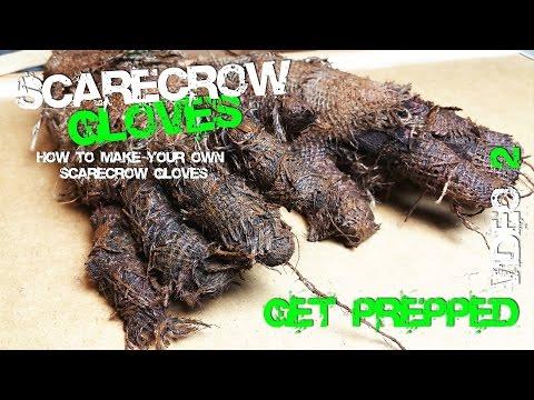 2 Scarecrow Glove making Preparation Secret Process Cosplay
