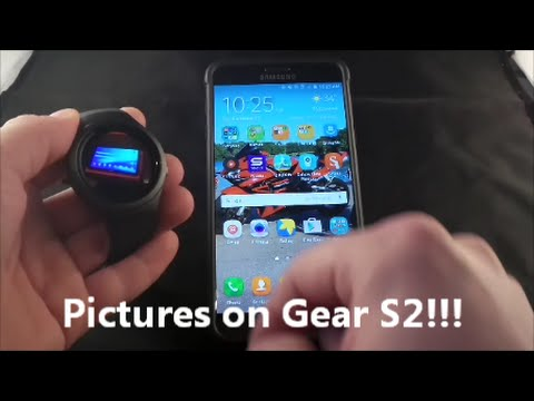 Add Photos To Your Samsung Gear S2