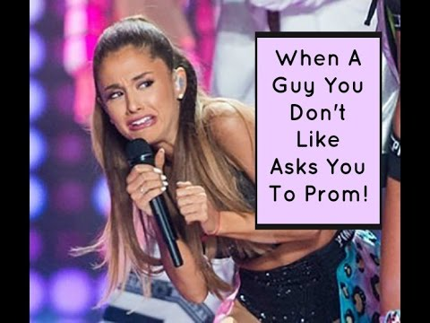 Ask Shallon: How To Turn Down A Guy Who Asks You To Prom | High School Dating Advice