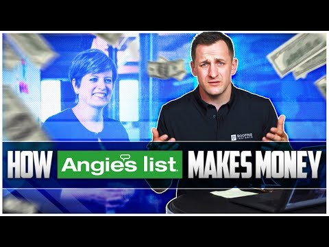How Angie's List Makes Money After Home Advisor buy