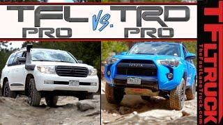 Can The TFL Pro Land Cruiser Crush Toyota