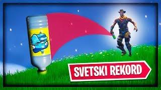 FORTNITE BOTTLE FLIP SVETSKI REKORD !!!