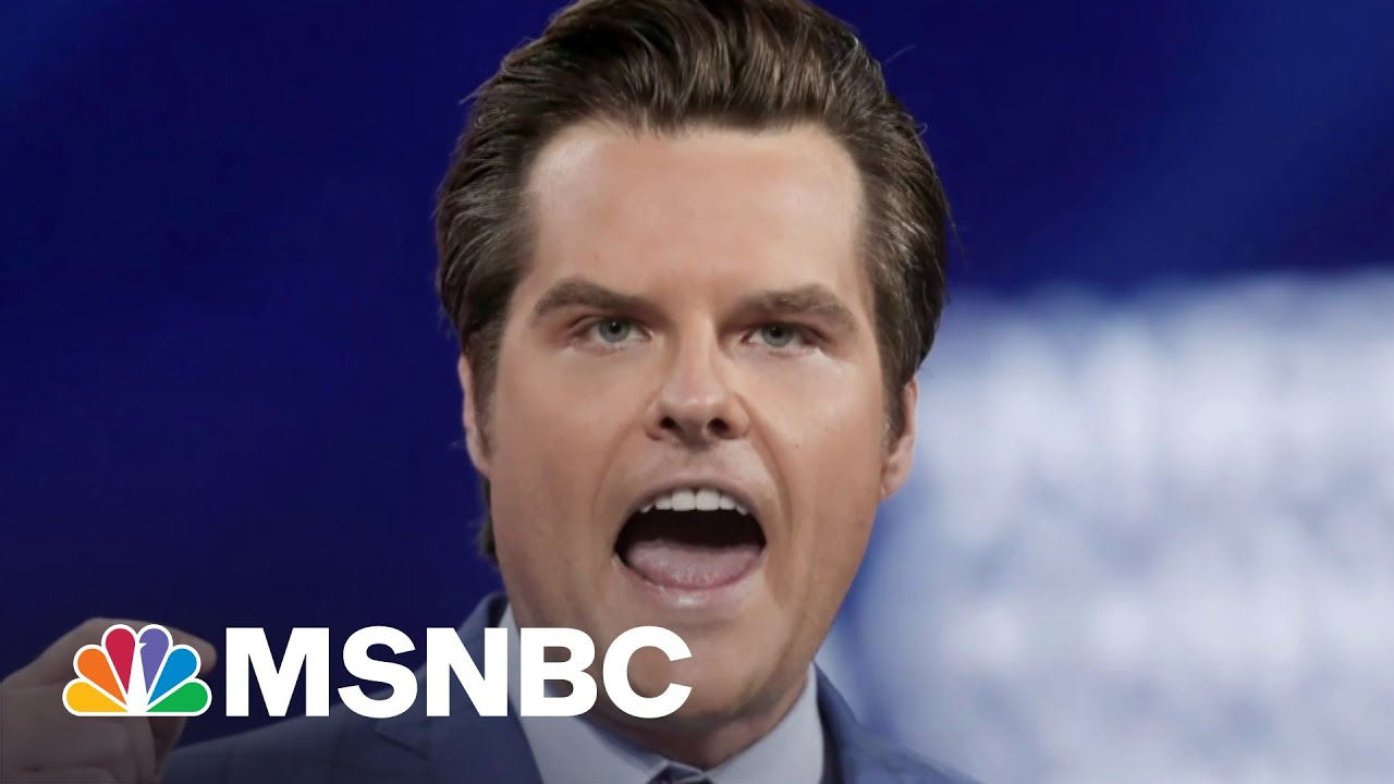 Heat On MAGA Rep. Gaetz In Sex Crime Probe As Plea Deadline Approaches   The Beat With Ari Melber